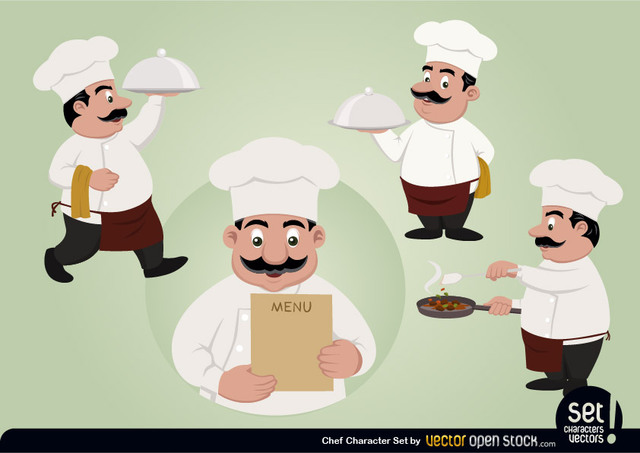 Free Chef Character Set