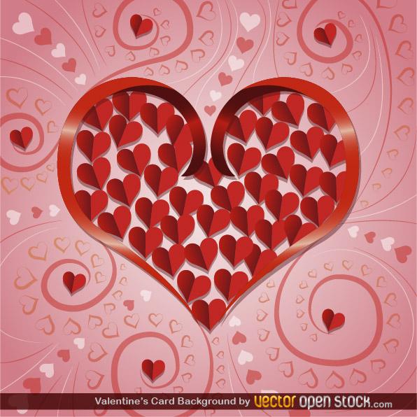 Free Valentine's Card Background
