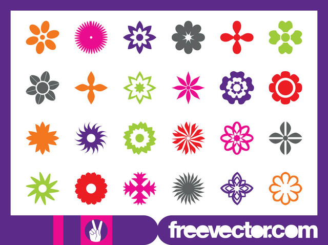 Free Floral Blossom Icon Pack