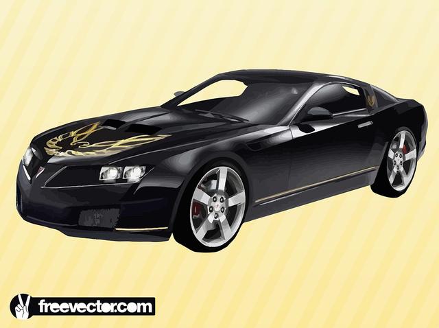 Free Sculpted Hood Black Pontiac Trans AM