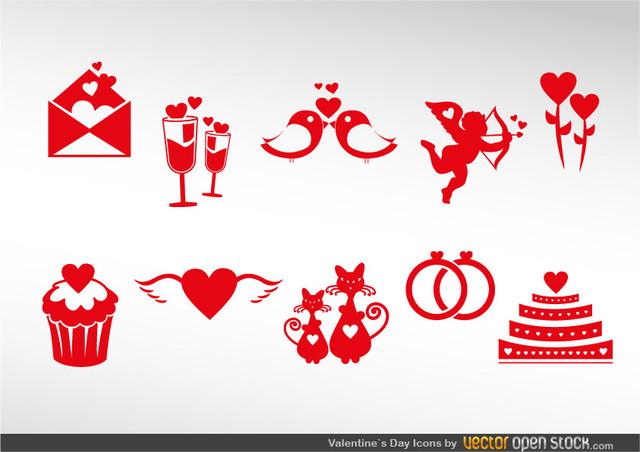 Free Valentine's Icon Set