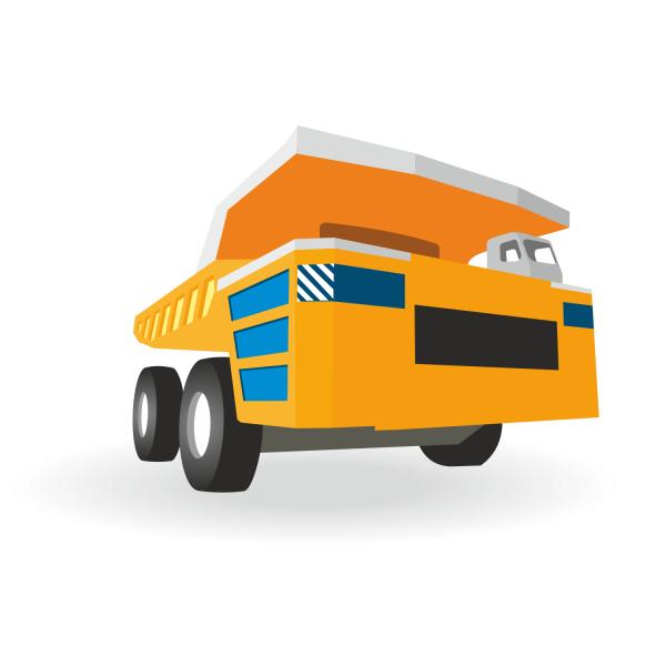 Free Big truck vector