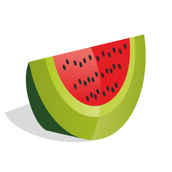 Free Vectors: Watermelon vector | Free Vector