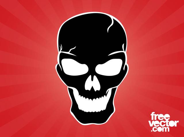 Free Evil Silhouette Skull