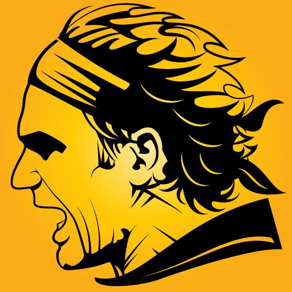 Free Roger Federer Silhouette Head