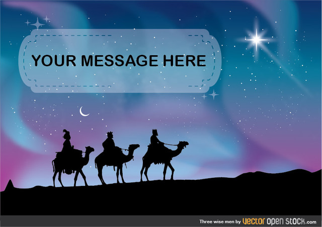 Free Vectors: Three Wise Men | Vector Open Stock
