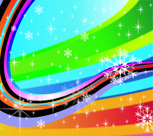 Free Colorful Stripy Holiday Background