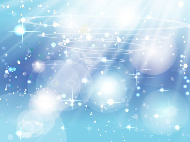 Free Blue Sparkling Background with Sunlight