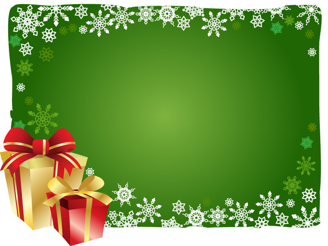 Free Christmas Background with Gift Boxes