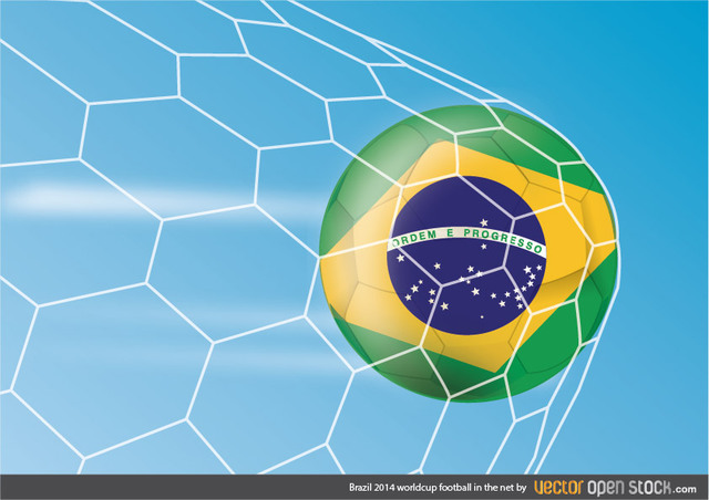 Free Brazil 2014 worldcup football in the net