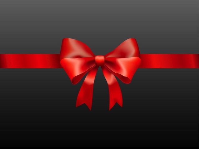 Free Vectors: Glossy Photorealistic Present Ribbon | All Vectors