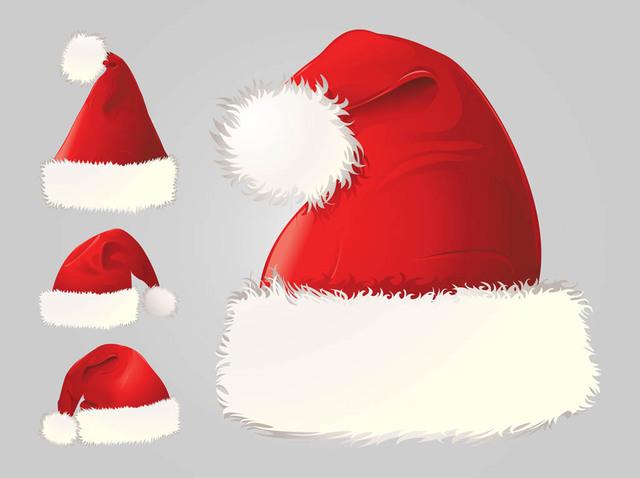 Free Detailed Santa Claus Hat Pack