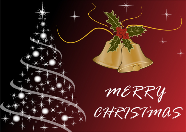 Free Luxurious Merry Christmas Background