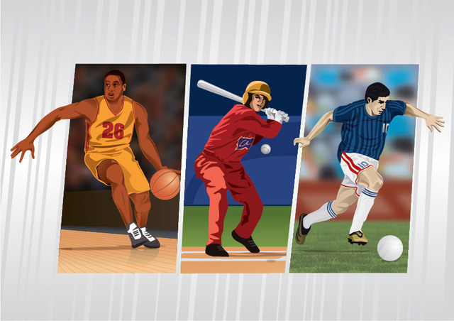 Free Sportsmen cards -baseball-basketball-football