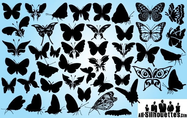 Free Butterfly Pack in Several Poses