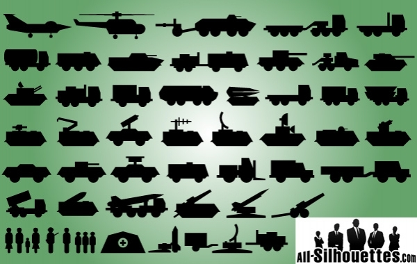 Free Military Technique Icon Pack