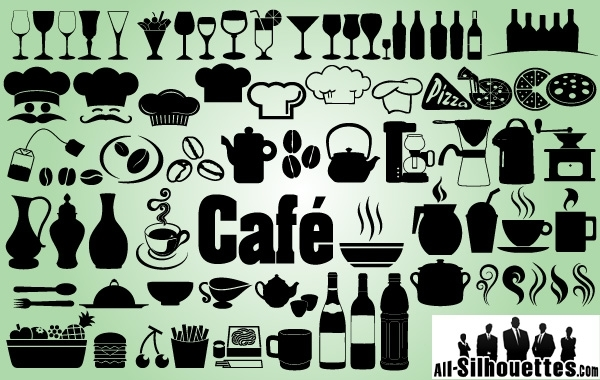 Free Creative Icon Pack of Cafe Restaurant