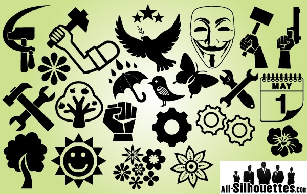 Free Symbol Pack International Labor Day
