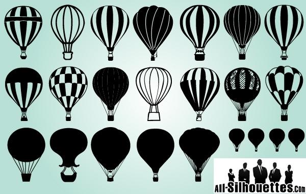Free Several Air Balloon Pack