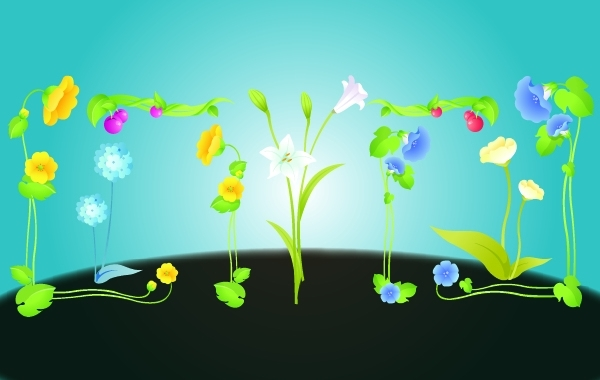 Free Natural Like Flowers with Floral