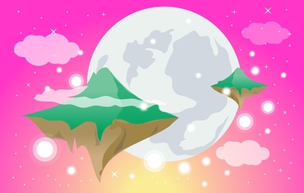 Free Dreamy World with Flying Islands