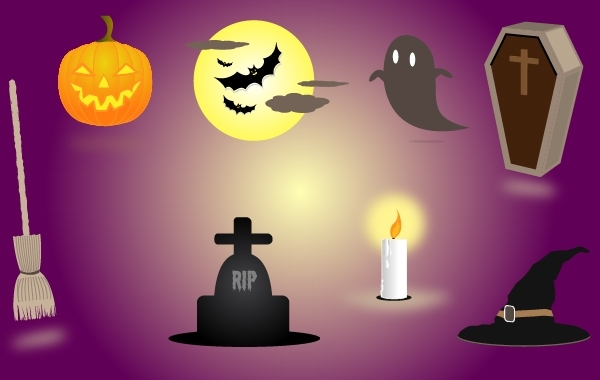 Free Scary Halloween Elements