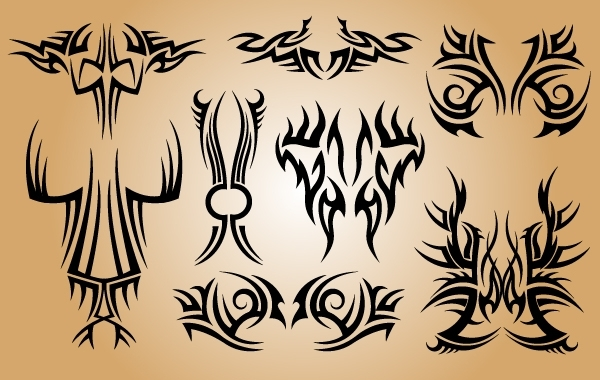 Free Stylish Tribal Tattoo Pack