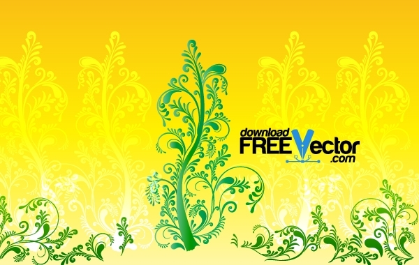Free Floral Ornamental Tree