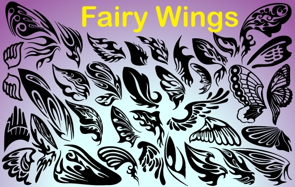 Free Fairy Wings Pack