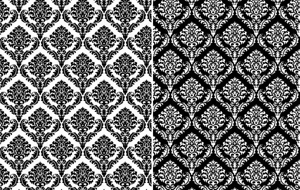 Free Seamless Damask Ornamental Pattern
