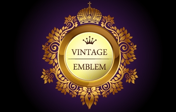 Free Vintage Heraldic Decorative Emblem