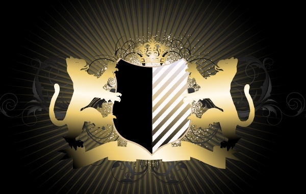 Free Creative Royal Heraldic Shield