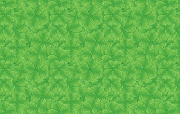 Free St Patrick Day Clover Pattern