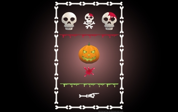 Free Halloween Site Kit Pack