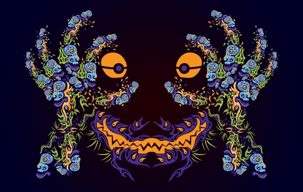 Free Psychedelic Ornamental Mask