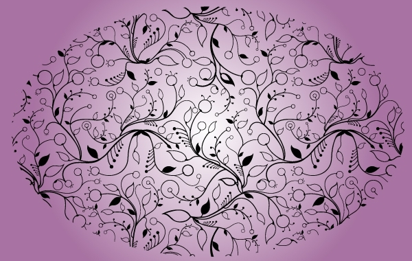Free Narrow Floral Seamless Pattern