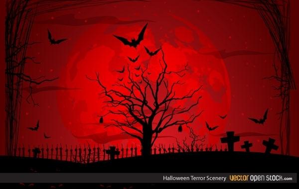 Free Halloween Terror Scenery