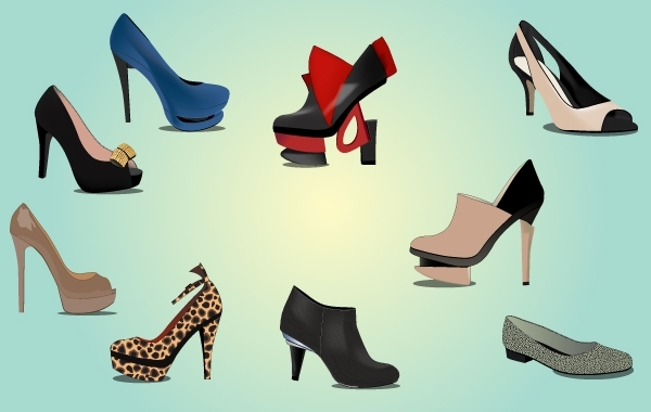 Free Fashionable Ladies Shoe Pack