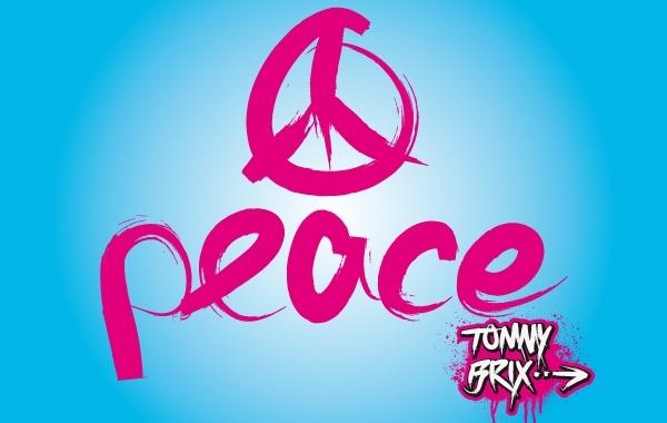 Free Vectors: Artistic Peace Sign Design | tommy_brix