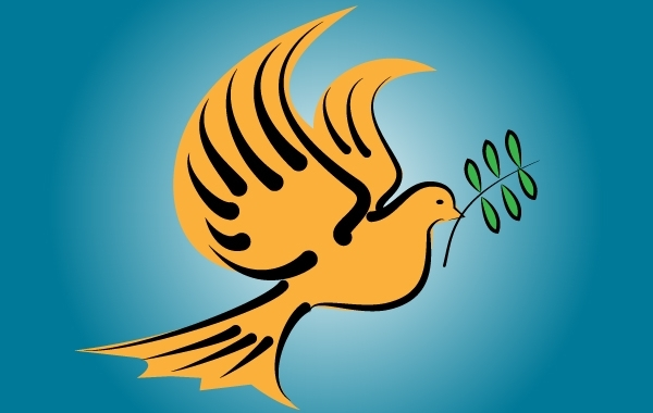Free Flying Dove Bird of Peace