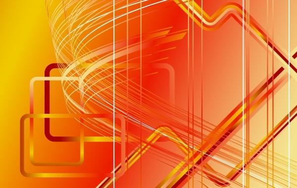 Free Vectors: Orangey Futuristic Stripy Background   SibilantRise