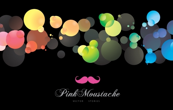 Free Colorful Shining Bubbles Background