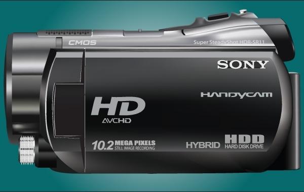 Free Realistic Sony HDR SR11 Handycam