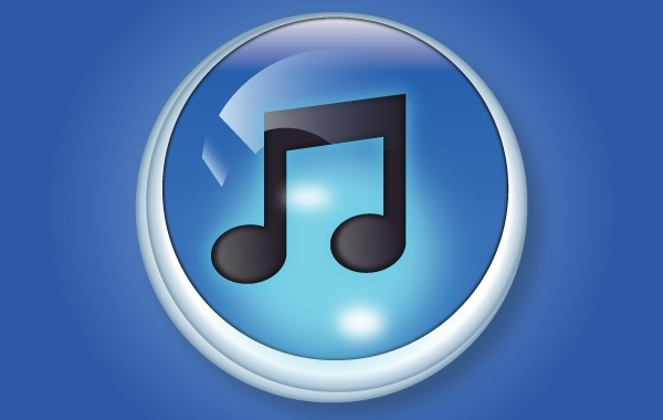 Free Stunning 3D ITune Button