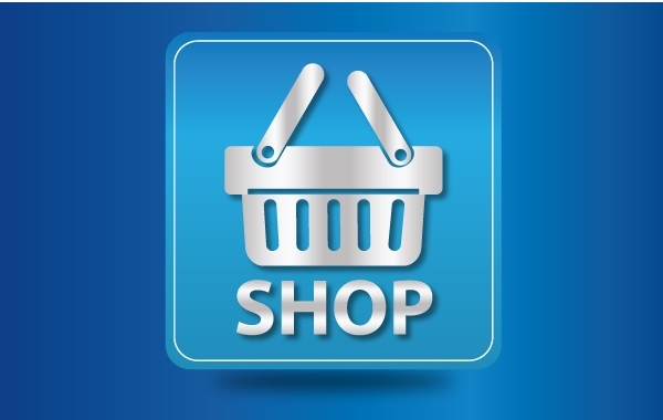 Free Icon Glossy Shopping Cart