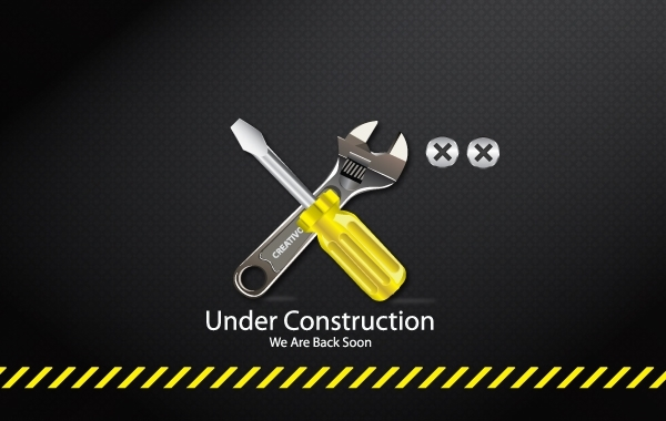 Free Under Construction Tools Icon