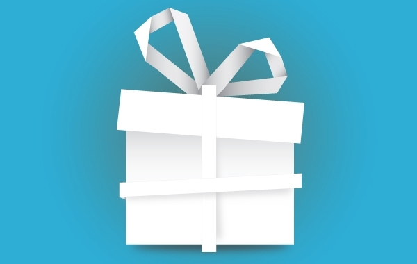 Free Gift Box Paper Made