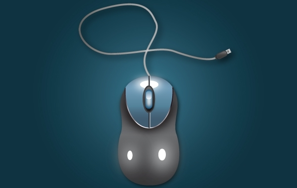 Free Vectors: USB PC Mouse | Creativology