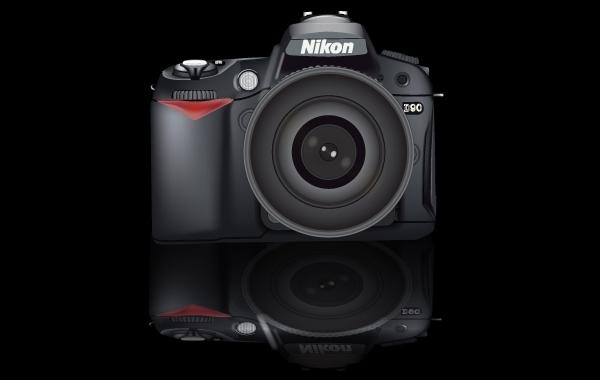 Free Camera Nikon D90 Realistic