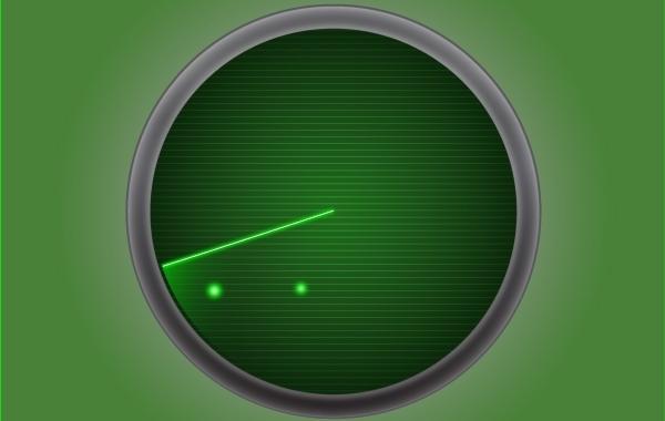 Free Radar Icon Green